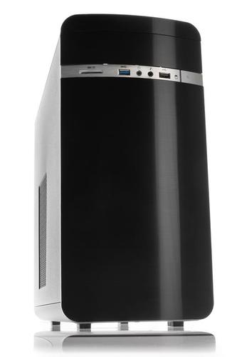 ITEK CASE OTTO ADVANCED DARK MINI TOWER MATX, USB3, NO PSU, CARD READER - NEW CONCEPT DESIGN