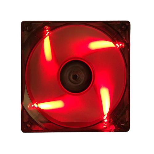 ITEK VENTOLA PER CASE XTREME FLOW - 12CM, LED ROSSO, 3+4PIN, SILENZIOSA
