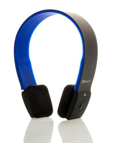 ITEK CUFFIE STEREO BLUETOOTH 4.0 CON MICROFONO - NERO BLU