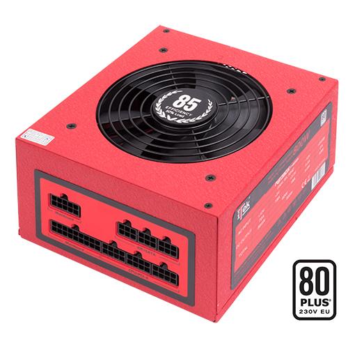 ITEK ALIMENTATORE REDBOX FM 800W 80PLUS WHITE EFFICIENZA 85, VENTOLA 12CM PFC ATTIVO, TOTALMENTE MODULARE