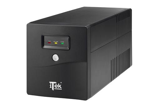 ITEK UPS WALKPOWER 1000 - 1000VA/600W, LINE INTERACTIVE, LED, 4XSCHUKO, AVR, RJ-11, USB