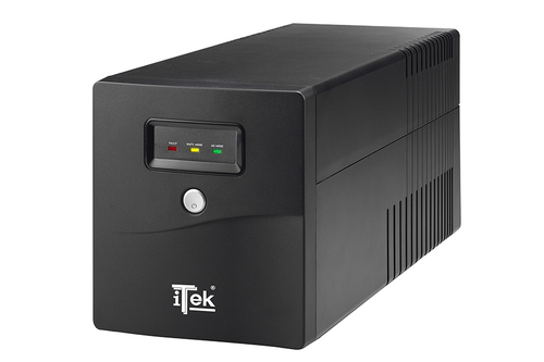 ITEK UPS WALKPOWER 1000 - 1000VA/600W, LINE INTERACTIVE, LED, 4XSCHUKO, AVR, RJ-11, USB