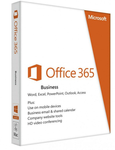 MICROSOFT OFFICE 365 BUSINESS SUBSCRIPTION 1 ANNO