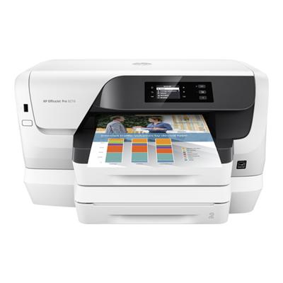 HP STAMPANTE INKJET OFFICEJET PRO 8218 A4 FRONTE RETRO 20PPM QUADRICROMIA