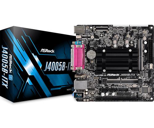 ASROCK MB J4005B-ITX J4005 2 DDR4 16GB PCI-E X1 HDMI MATX
