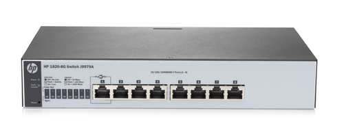 HPE SWITCH RJ-45 10/100/1000 MBPS 8P LAN