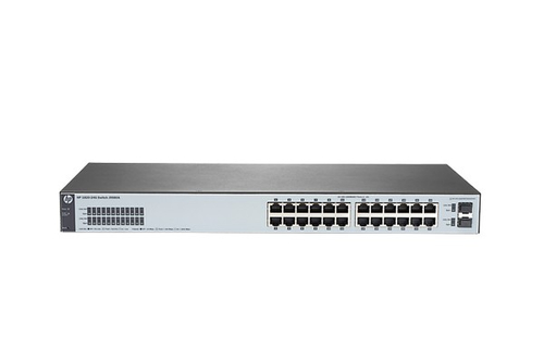 HP SWITCH 24 PORTE GIGABIT + 2 SLOT SFP RACK MOUNTABLE MANAGED HP1820-24G