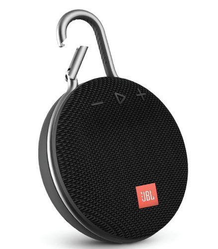 JBL SPEAKER BLUETOOTH CLIP3 BLACK WATERPROOF