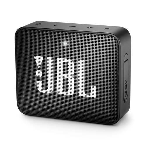 JBL SPEAKER BLUETOOTH GO2 BLACK WATERPROOF