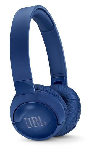 JBL CUFFIE OVER-EAR WIRELESS CON CANCELLAZIONE ATTIVA DEL RUMORE          COMANDI E MICROFONO SUL PADIGLIONE DRIVER 32MM 12 ORE COLORE BLUO