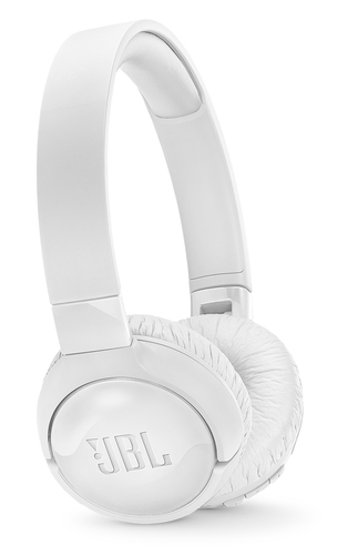 JBL CUFFIE OVER-EAR WIRELESS CON CANCELLAZIONE ATTIVA DEL RUMORE          COMANDI E MICROFONO SUL PADIGLIONE DRIVER 32MM 12 ORE COLORE BIANCO