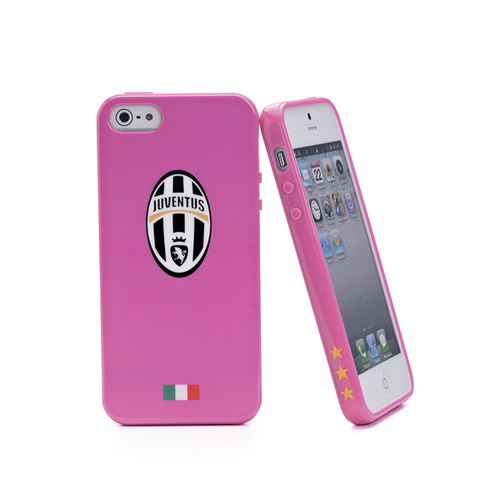 CELLY JUVE TPU CASE PINK IPHONE 5 8021735073918 JUVDGEL02 14_JUVDGEL02