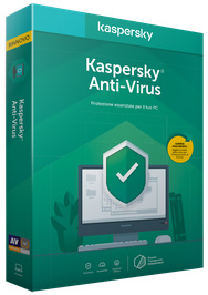 KASPERSKY ANTIVIRUS 2020 1 USER 1 YEAR
