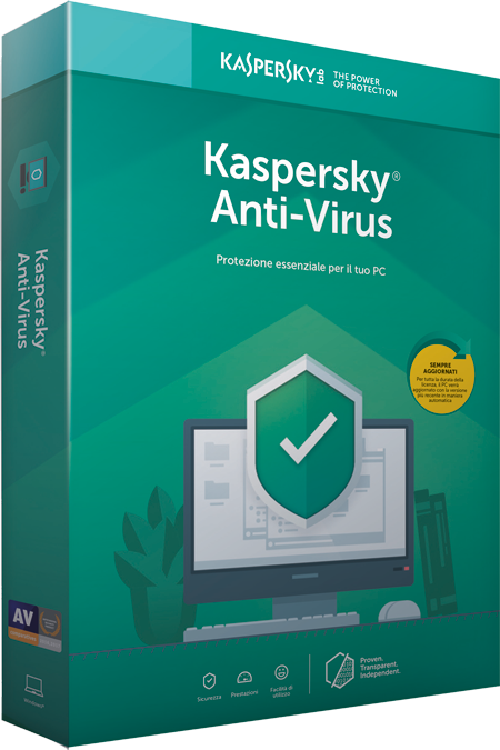 KASPERSKY ANTI VIRUS 2019 3 USER