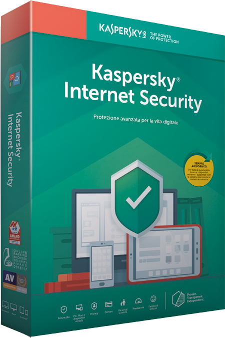 KASPERSKY INTERNET SECURITY 2019 1 USER RENEWAL
