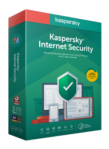 KASPERSKY INTERNET SECURITY 2020 3 USER 1 YEAR RENEWAL