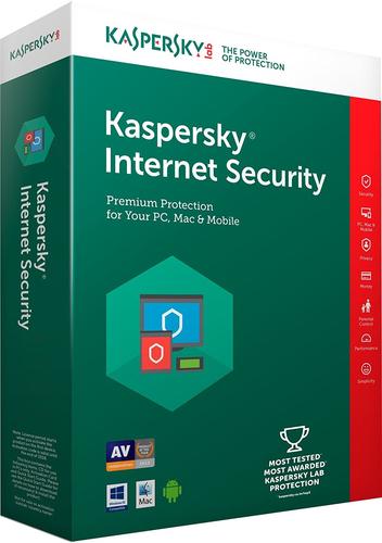 KASPERSKY INTERNET SECURITY 2019 3 USER RENEWAL