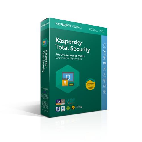 KASPERSKY TOTAL SECURITY 2019 3 USER