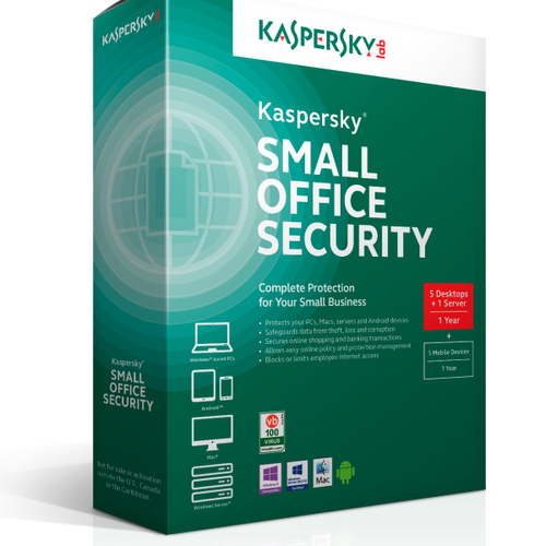 KASPERSKY SMALL OFFICE SECURITY 5USER 1YEAR