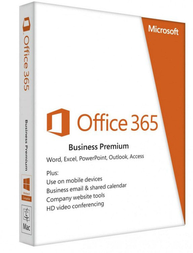 MICROSOFT OFFICE 365 BUSINESS PREMIUM RETAIL ITA WIN/MAC EUROZONE SUB 1YR MEDIALESS