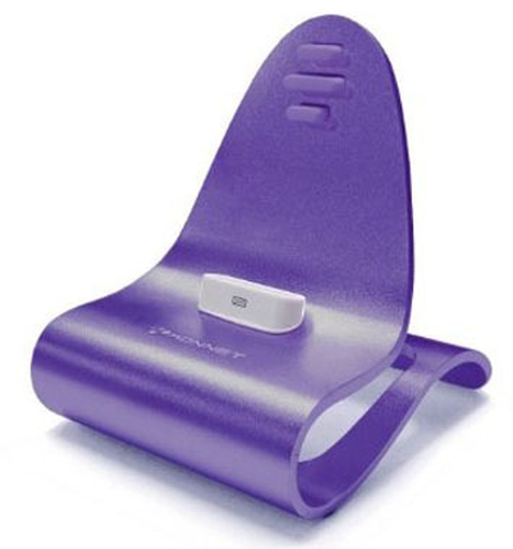 KONNET ICRADO STAND IPHONE/IPOD USB VIOLET KN-8239