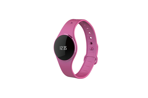 MYKRONOZ SMARTWATCH ZECIRLE OLED DISPLAY 64*32 TOUCH BT4.0 LI-ION 55MAH 7 DAYS MEMORY NOTIFICATION PINK
