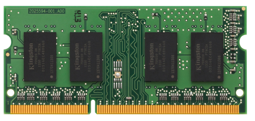 KINGSTON RAM SODIMM 4GB DDR3 1333MHZ CL9 NON ECC