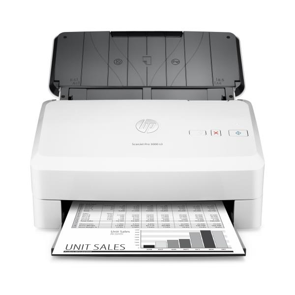 HP SCANNER DOCUMENTALE PRO 3000 S3 A4 35PPM/70IPM FRONTE/RETRO USB 600DPI