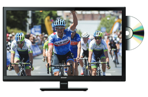 SHARP 24 HDREADY TV CON DVD INTEGRATO