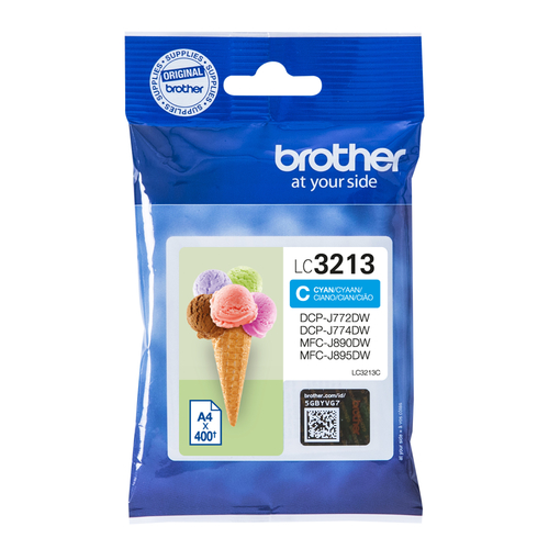 BROTHER CART.INK CIANO PER DCPJ772/J774/MFCJ890DW/J895DW DA 400PG