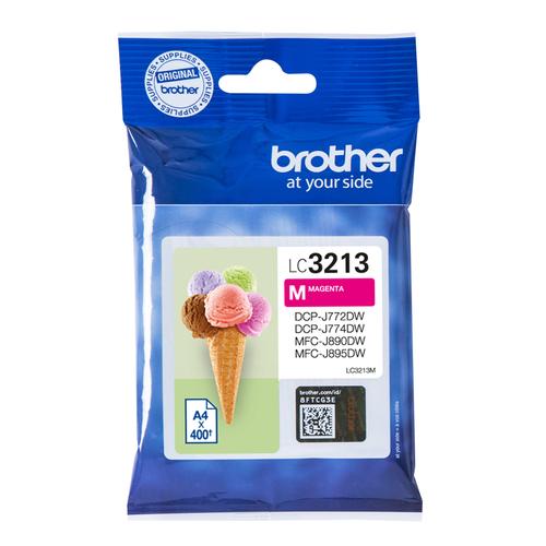BROTHER CART INK MAGENTA PER DCPJ772/J774/MFCJ890DW/J895DW DA 400PG