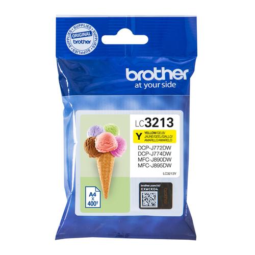 BROTHER CART INK GIALLO PER DCPJ772/J774/MFCJ890DW/J895DW DA 400PG