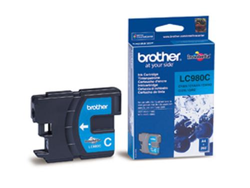 BROTHER CARTUCCIA LC980CBP INKJET CIANO DA 260 PAGINE