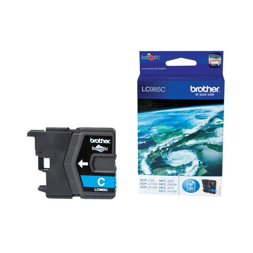BROTHER CART INK CIANO DA 260 PAGINE PER MFC-J220/J265W/J410/DCP-J515W
