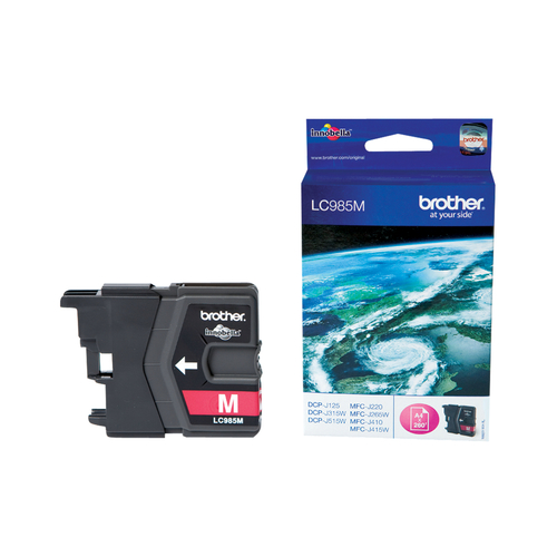 BROTHER CARTUCCIA MAGENTA DA 260 PAGINE PER MFC-J220/J265W/J410/DCP-J515W
