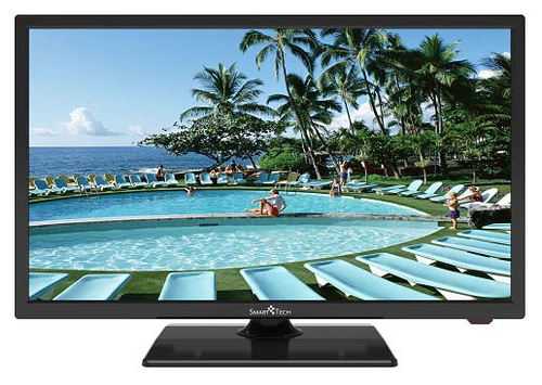 SMART TECH TV FULL LED HD 24 60HZ FUNZIONE HOTEL TV