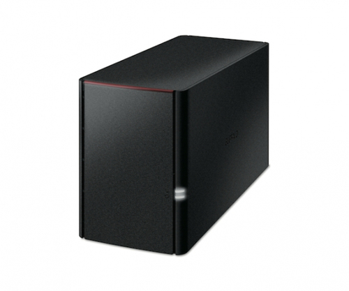 BUFFALO NAS LINKSTATION 2BAY 2X4TB HDD 1XGIGABIT RAID 0 1