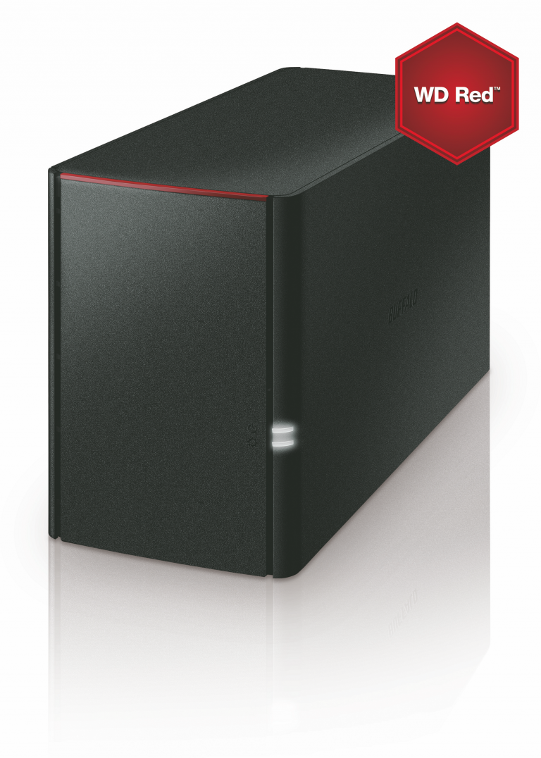 BUFFALO NAS LINKSTATION 220DR 2TB WD RED GARANZIA 3 ANNI