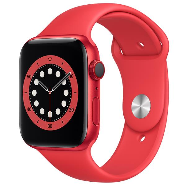 APPLE WATCH SERIES 6 GPS+CELLULAR 44MM PRODUCT RED ALLUMINIUM CASE WITH SPORT BAND REGULAR