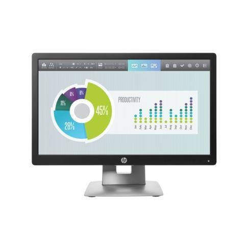 HP MONITOR 20 LED IPS ELITE DISPLAY E202 16:9 1600X900 250CD/M VGA/DP/HDMI -  GARANZIA 36 MESI