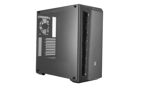 COOLER MASTER CASE MASTERBOX MB510L BLACK TRIM MID TOWER ATX, USB3X2, AUDIO IO, 2X COMBO 3.5/2.5