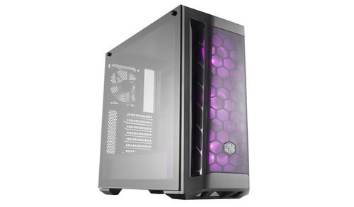 COOLER MASTER CASE MASTERBOX MB511 RGB MESH VERS. MID TOWER ATX, USB3X2, AUDIO IO, 2X COMBO 3.5/2.5