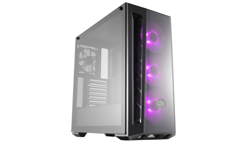 COOLER MASTER CASE MASTERBOX MB520 ACRYL RGB VERS. MID TOWER ATX, USB3X2, AUDIO IO,2X HDD 3.5