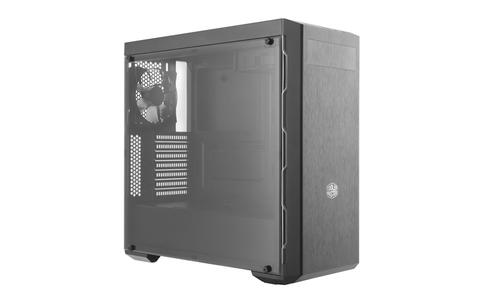 COOLER MASTER MASTERBOX MB600L MIDTOWER ATX, 2XUSB3.0, AUDIO IN/OUT, 7 BAY (1XSSD), 1X 120 REAR FAN, BLACK/GUNMETAL