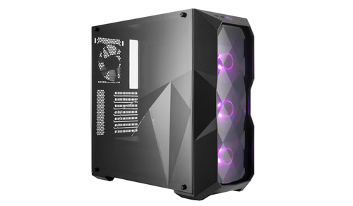 COOLER MASTER CASE MASTERBOX TD500 MID TOWER ATX, USB3X2, AUDIO IO, 2X 3.5/4X 2.5