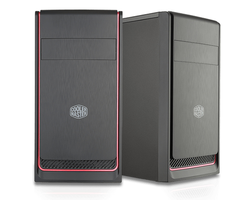 COOLER MASTER CASE MASTERBOX E300L RED MINI TOWER MICROATX-MINI ITX, USB3X2, AUDIO IO, 1X 5,25
