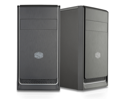 COOLER MASTER CASE MASTERBOX E300L SILVER MINI TOWER MICROATX-MINI ITX, USB3X2, AUDIO IO, 1X 5,25