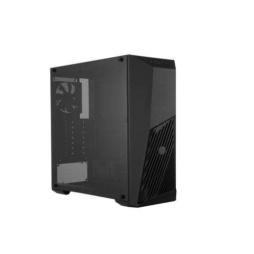COOLER MASTER CASE MASTERBOX K501L MID-TOWER ATX, 7 SLOT ESPANSIONE, 1XUSB 3.0, 1XUSB 3.2, 2X3.5MM JACK AUDIO, 1X120MM FAN FRONT, 1X120MM FAN REAR