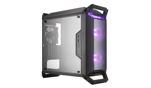 COOLER MASTER CASE MASTERBOX Q300P MID TOWER MICROATX-MINI ITX, USB3X2, AUDIO IO, 1X 3.5/2X 2.5