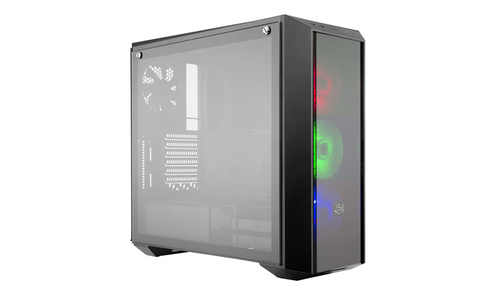 COOLER MASTER CASE MASTERBOXPRO 5 RGB, ATX, 2XUSB3.0, AUDIO IN/OUT, 7X EXP SLOT, 3X120 FAN RGB FRONT, 1X120 FAN REAR, WINDOW